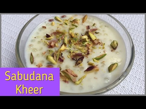 Sabudana Kheer In Hindi With English Subtitles| Indian Dessert| Navratri Special Fasting Food