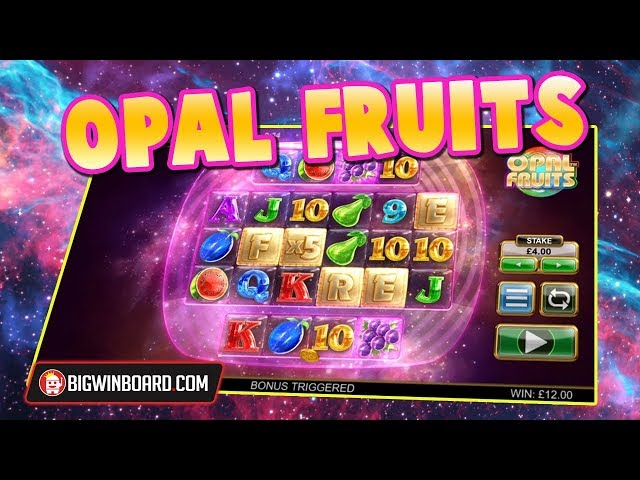 OPAL FRUITS (BIG TIME GAMING) - MEGA WIN