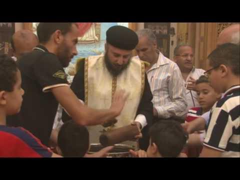 تطيب اجساد أباء رسل وقديسي الشهر 14 يوليو 2016