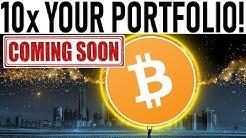 10x YOUR PORTFOLIO!  TAKE ADVANTAGE OF BITCOIN SELL OFF!  STOCK MARKET CAUSES BITCOIN DROP!