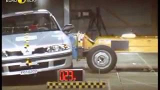 Краш-тест Mitsubishi Carisma 2001