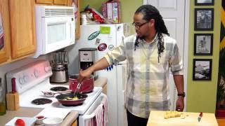 Jamaican Rice & Peas W/ Brown Sugar Beer Chicken & Fried Plantains