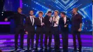 Boyzone & Eoghan Quigg - Picture of you [Live] The X Factor 13-12-2008 [HQ]
