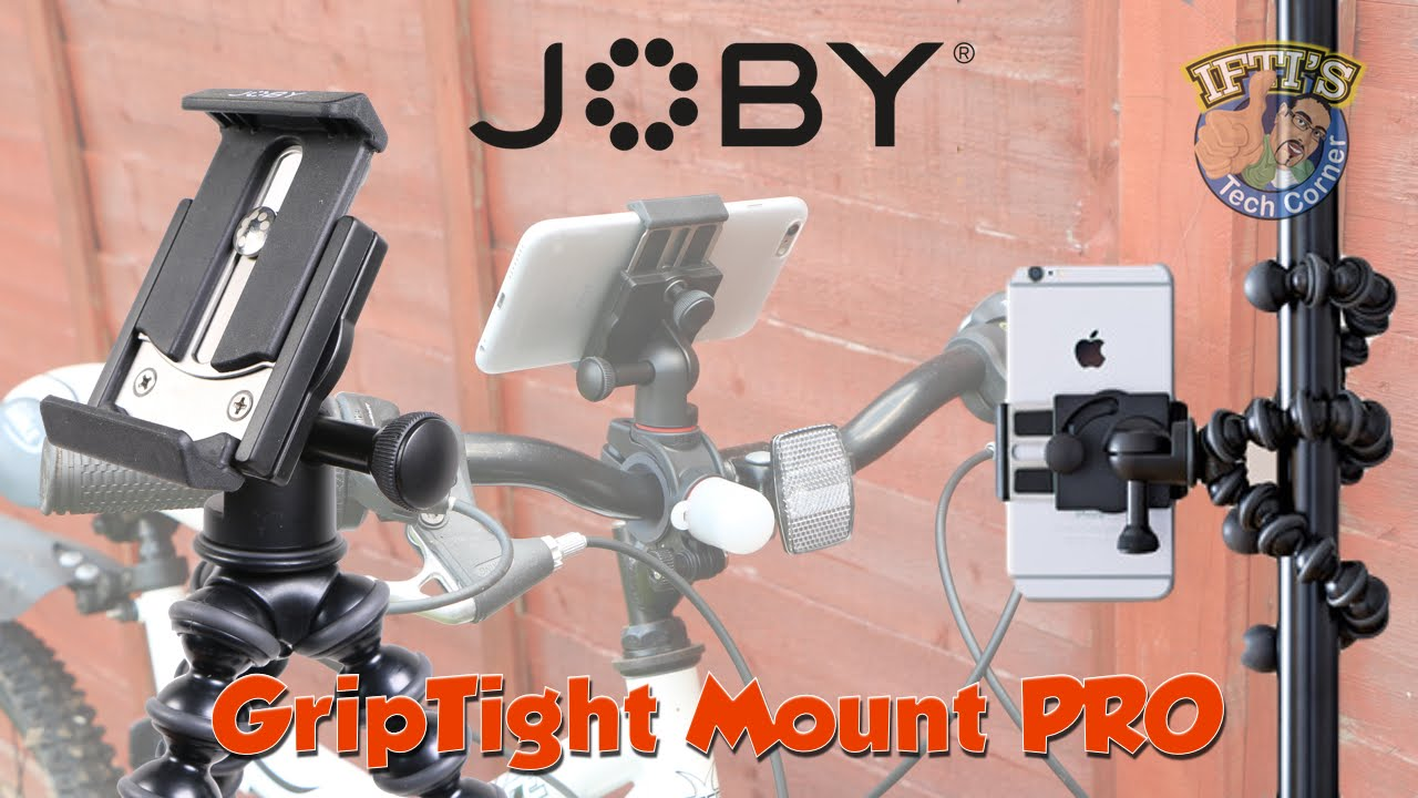 The JOBY GripTight PRO TelePod is a tripod… and a grip… and a selfie stick