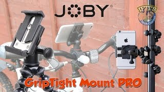 Joby GorillaPod GripTight Pro for Smartphones & Tablets! REVIEW