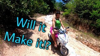 Taking Scooters Where they Shouldn't Go... -Day  43 - Life in Thailand