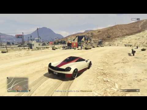 GTA 5 - Import/Export - Source Vehicle - Photo of location (Sandy Shores)