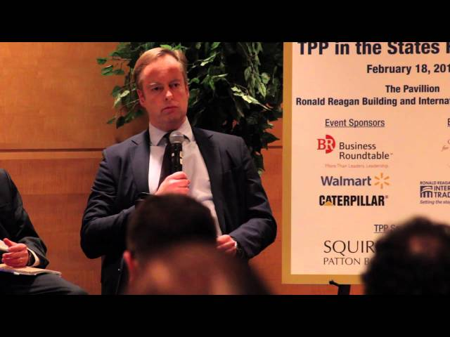 WITA TPP Series: TPP in the States-John Elink-Shuurman of the the VEDP 2/18/16