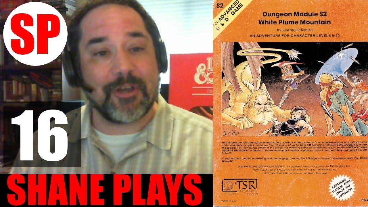 D&D White Plume Mountain Notes #16