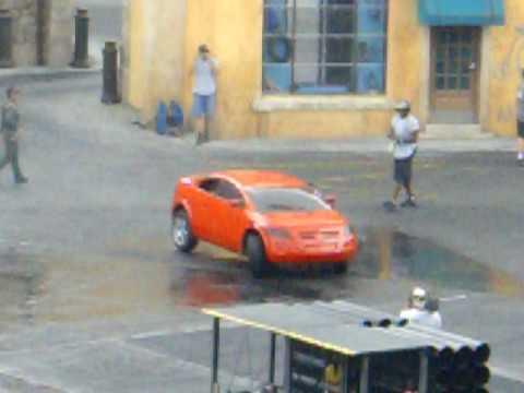 FULL SIZE RC CAR BURNOUT!!!!!