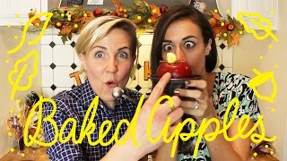 MY DRUNK KITCHEN: Baked Apples (ft. Colleen!)
