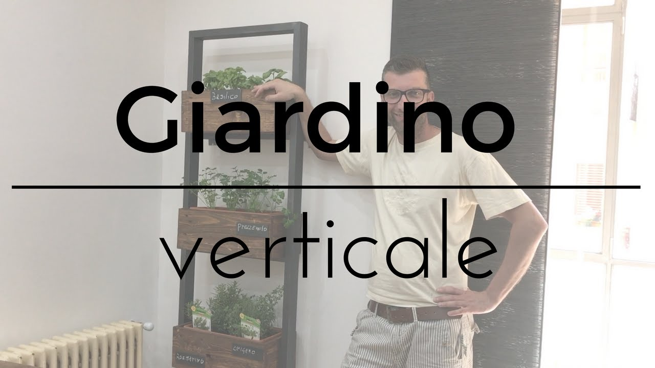 Fai da te giardino verticale youtube