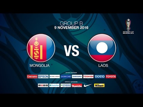 #AFC SOLIDARITY CUP Group B Day 3  Mongolia v Laos  -  News Report