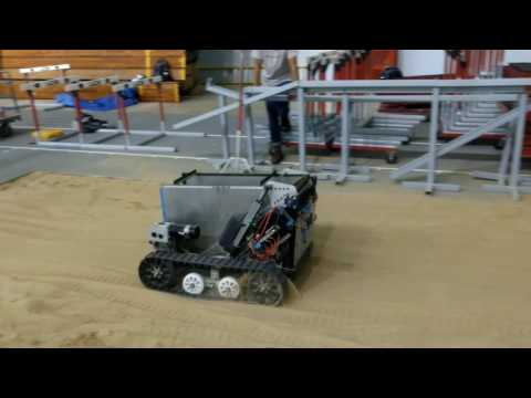 UW-Madison Robotic Mining Competition Test