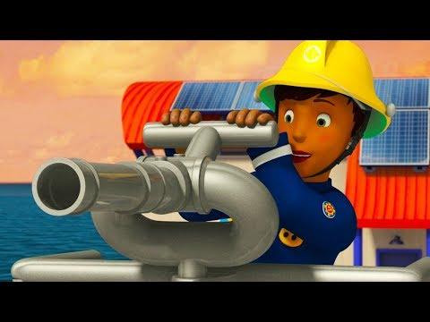 Fireman Sam Full Episodes   Safety lessons - Wheel on fire   Marathon 🚒🔥Kids Movie