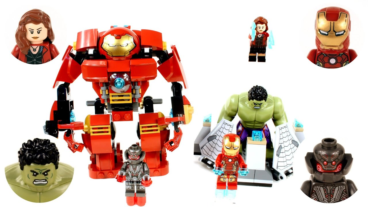Lego Hulk Buster Smash Speed Build And Review Avengers