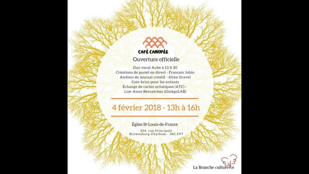 Café Canopée du 4 février 2018