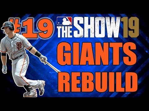 THE BEST LINEUP EVER?? SAN FRANCISCO GIANTS FRANCHISE EPISODE 19 | MLB 19 THE SHOW