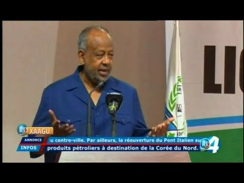 Télé Djibouti Chaine Youtube : JT Somali du 06/01/2018