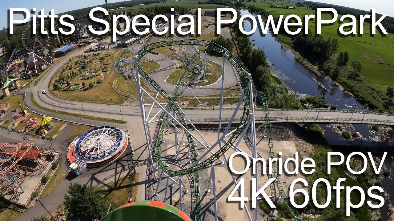 Pitts Special PowerPark - Onride POV 4k 60fps