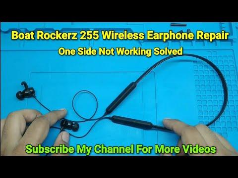 boat-rockerz-255-wireless-earphone-repair-|-one-side-not-working-solved