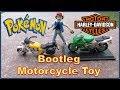 POKEMON Motorcycle (Harley Davidson / Low rider style ) Bootleg Toy | POKEMON MOTO