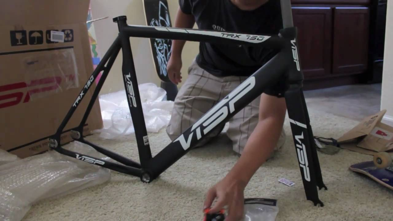 visp track frame unboxing youtube