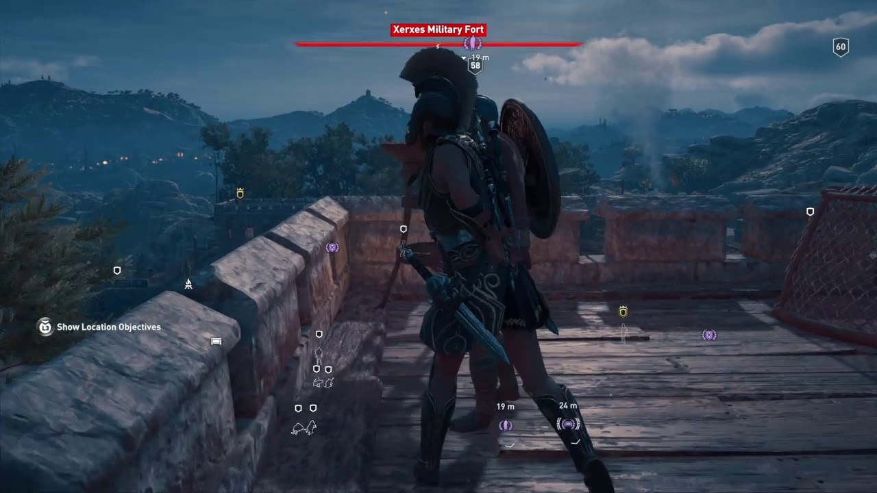 Assassin S Creed Odyssey The Nation Treasure In Lokris Fort Contains A Clue About The Cultist Youtube