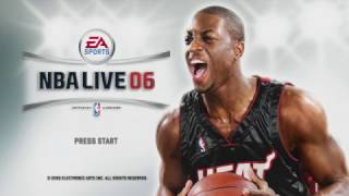 NBA Live 06 - Intro & Attract Mode (Xbox 360)