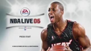 NBA Live 06 - Intro & Attract Mode (Xbox 360)