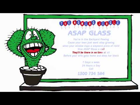 ASAP GLASS MOWING JINGLE.m4v