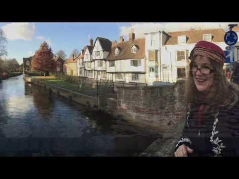 Visiting Canterbury, England