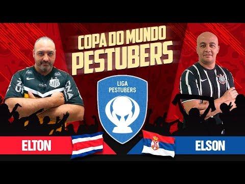 PES 2018 - COPA DO MUNDO TOP PESTUBERS - COSTA RICA X SERVIA