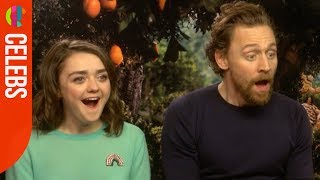 Early Man cast react to their Blue Peter Badges!