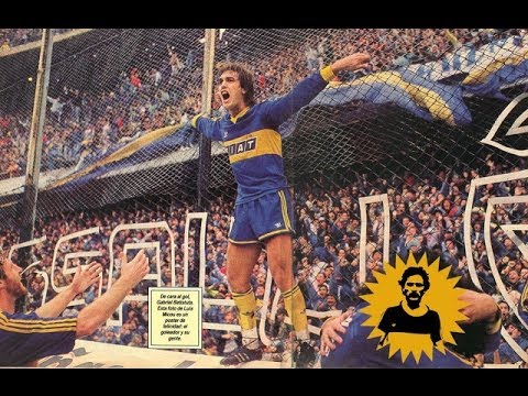 Batistuta goals in Boca Juniors 1990/91