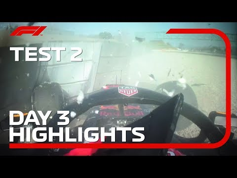 Test 2, Day 3 Highlights | F1 Testing 2019