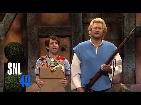 Cut For Time: Disney Characters (Blake Shelton) - SNL