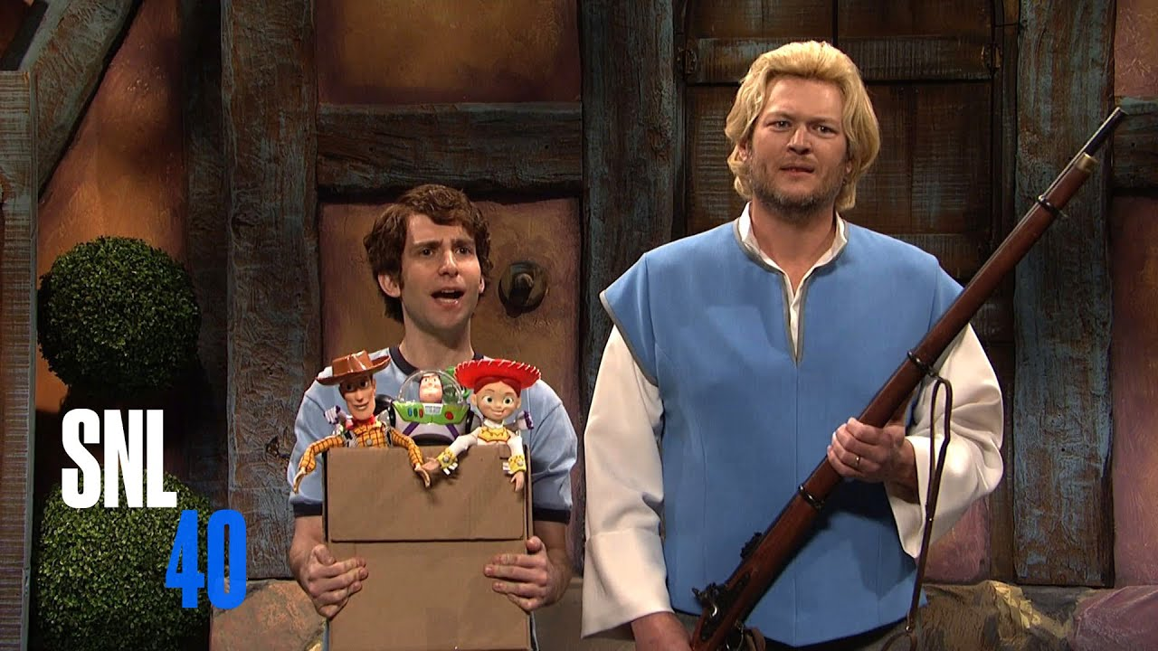 Cut for time disney characters blake shelton snl youtube m4hsunfo