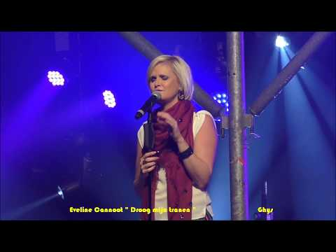 """Eveline Cannoot """" Droog mijn tranen """" 08 09 2017"""