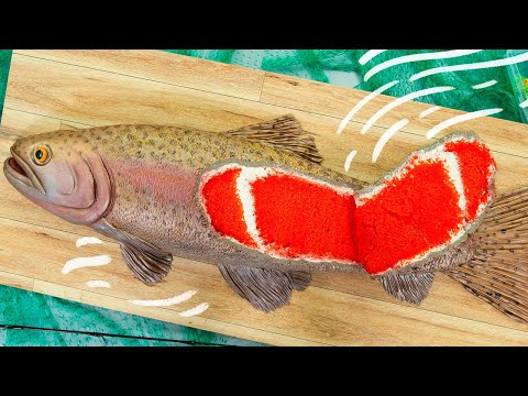You Won't Believe It's Cake! | FISH made of CAKE for Father's Day | How To Cake It