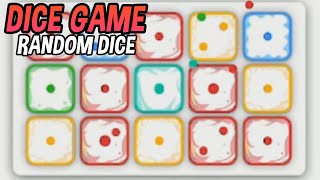 A game of defense with a Dice│Random Dice