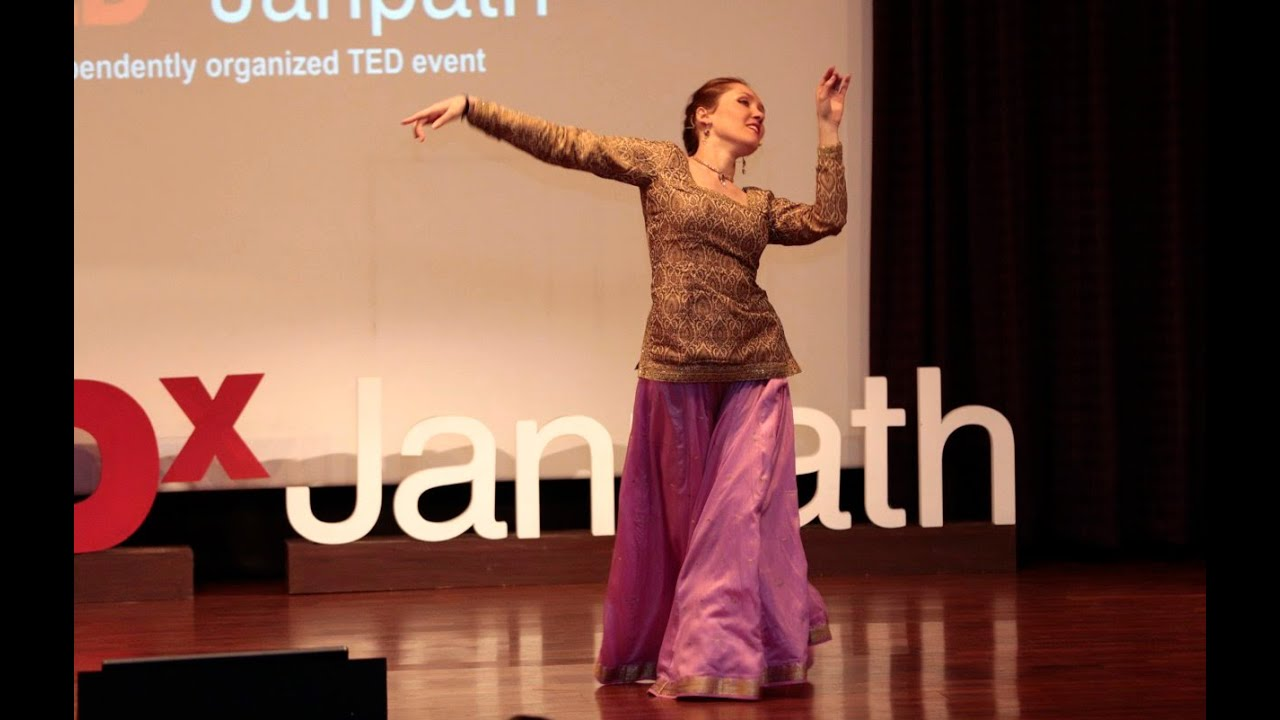 Journey of the Lotus through  Bellydance, Persian dance and Kathak dance | Lise Moulet | TEDxJanpath