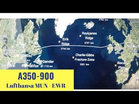 Lufthansa A350 900 Economy Class FLIGHT REPORT ✈ LH 412 Munich   Newark ✈