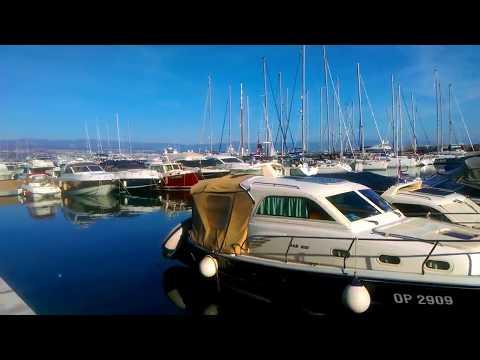 Icici beach lungomare ACI marina, Kvarner riviera Opatija, Travel to Croatia