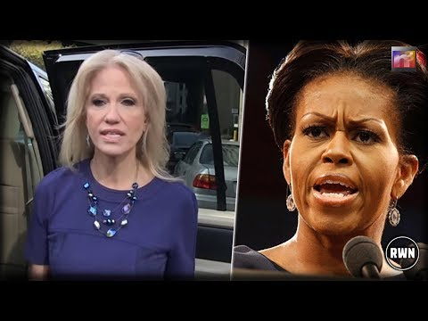 Kellyanne Brutally Slams Michelle Obama And Now She's Being Called A Racist For It