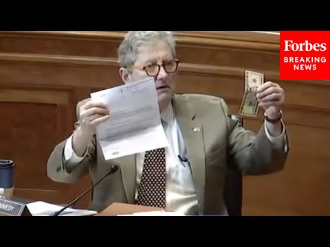 'One Of My Constituents Got This In The Mail': John Kennedy Presents Surprising Letter At Hearing