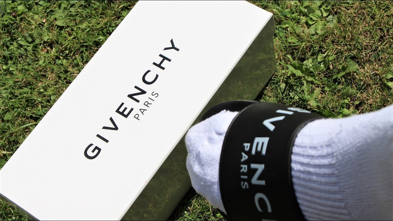 f8de167b634 Givenchy Slides Review   Unboxing - YouTube