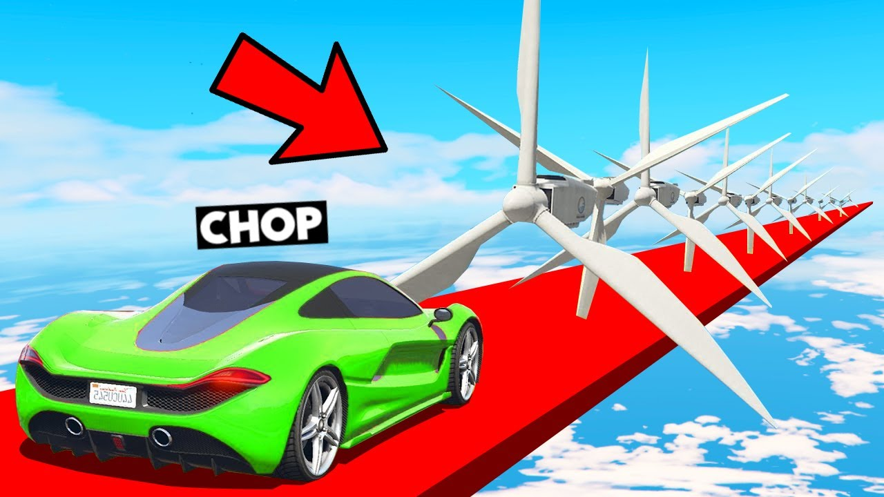 1000% IMPOSSIBLE WINDMILL BLADES PARKOUR GTA 5