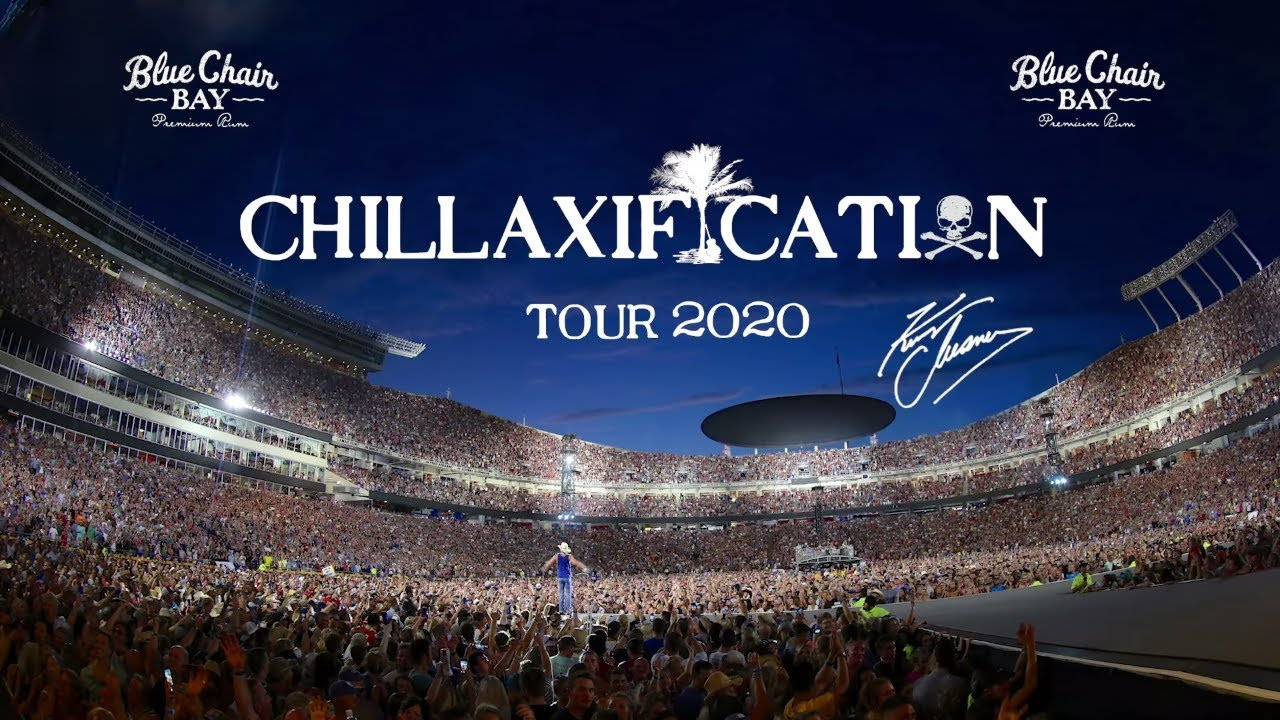 Kenny Chesney 2020 Tour.Kenny Chesney Chillaxification Tour 2020 Stadiums Announced
