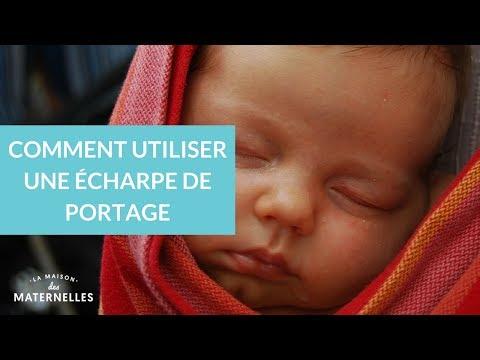 Comment Utiliser Une écharpe De Portage - La Maison Des Maternelles #LMDM